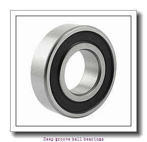 30 mm x 62 mm x 16 mm  skf 6206 NR Deep groove ball bearings