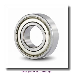 4 mm x 7 mm x 2.5 mm  skf W 627/4-2Z Deep groove ball bearings