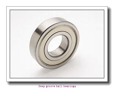 12 mm x 24 mm x 6 mm  skf 61901 Deep groove ball bearings
