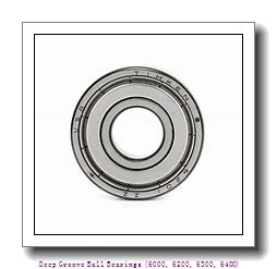 timken 6007-NR-C3 Deep Groove Ball Bearings (6000, 6200, 6300, 6400)