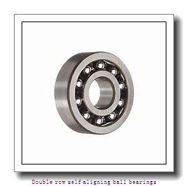 55 mm x 120 mm x 43 mm  NTN 2311SC3 Double row self aligning ball bearings