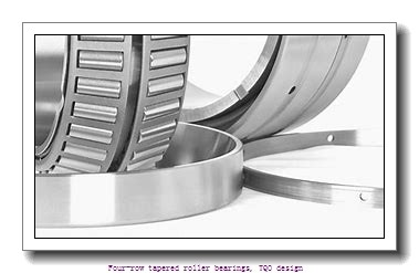 457.2 mm x 596.9 mm x 276.225 mm  skf 331169 BG Four-row tapered roller bearings, TQO design