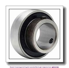 20 mm x 47 mm x 31 mm  skf YAR 204-2FW/VA228 Insert bearings with grub screws for high temperature applications
