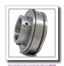 42.862 mm x 85 mm x 49.2 mm  skf YAR 209-111-2FW/VA228 Insert bearings with grub screws for high temperature applications