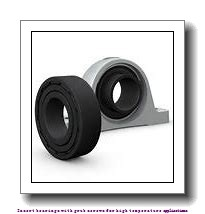 20 mm x 47 mm x 31 mm  skf YAR 204-2FW/VA201 Insert bearings with grub screws for high temperature applications