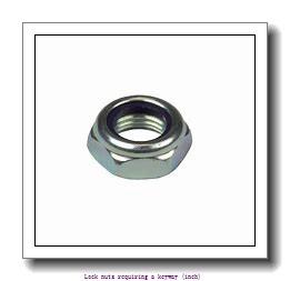 skf N 022 Lock nuts requiring a keyway (inch)
