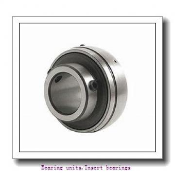 28.58 mm x 62 mm x 38.1 mm  SNR UC.206-18.G2 Bearing units,Insert bearings