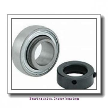 30 mm x 62 mm x 38.1 mm  SNR SUC.206 Bearing units,Insert bearings
