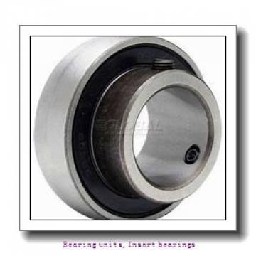 28.58 mm x 62 mm x 38.1 mm  SNR UC.206-18.G2.T20 Bearing units,Insert bearings