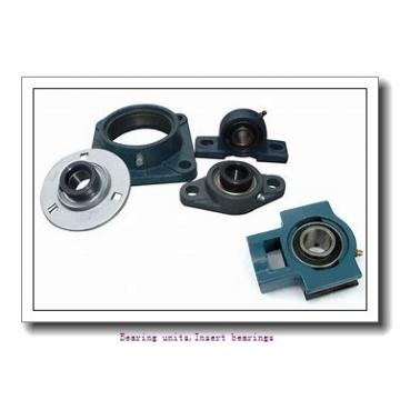 28.58 mm x 62 mm x 38.1 mm  SNR MUC206-18FD Bearing units,Insert bearings