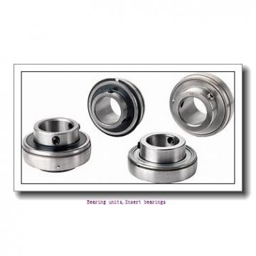 75 mm x 160 mm x 74.6 mm  SNR EX315G2T04 Bearing units,Insert bearings