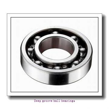 40 mm x 52 mm x 7 mm  skf W 61808 R-2Z Deep groove ball bearings