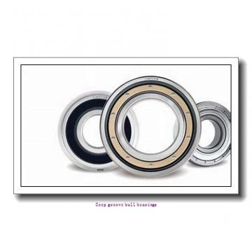 1.397 mm x 4.762 mm x 2.779 mm  skf D/W R1-2Z Deep groove ball bearings