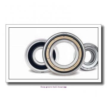 7 mm x 19 mm x 6 mm  skf W 607 R-2RZ Deep groove ball bearings