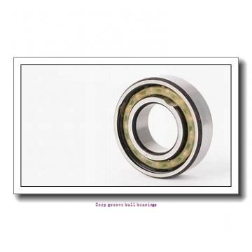 15.875 mm x 34.925 mm x 8.733 mm  skf D/W R10-2RZ Deep groove ball bearings