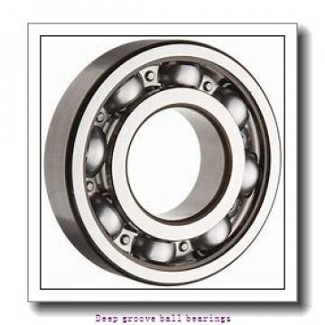 5 mm x 11 mm x 4 mm  skf W 628/5 R-2Z Deep groove ball bearings