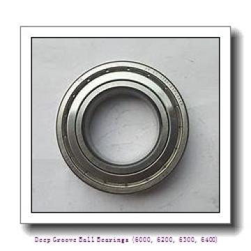 75 mm x 130 mm x 25 mm  timken 6215-2RS-C3 Deep Groove Ball Bearings (6000, 6200, 6300, 6400)
