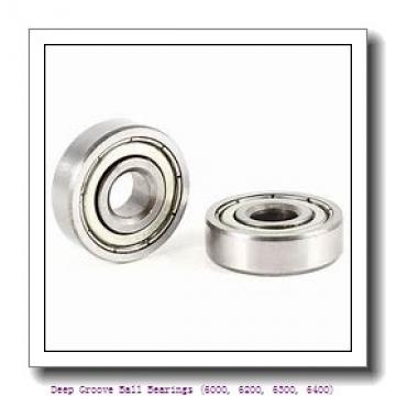 timken 6016-2RZ-C3 Deep Groove Ball Bearings (6000, 6200, 6300, 6400)