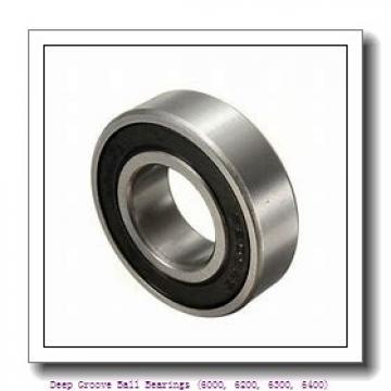 timken 6012-NR-C3 Deep Groove Ball Bearings (6000, 6200, 6300, 6400)