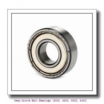 55 mm x 90 mm x 18 mm  timken 6011-ZZ-C3 Deep Groove Ball Bearings (6000, 6200, 6300, 6400)