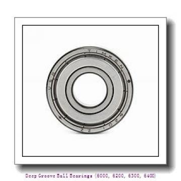 35 mm x 62 mm x 14 mm  timken 6007-2RS-C3 Deep Groove Ball Bearings (6000, 6200, 6300, 6400)