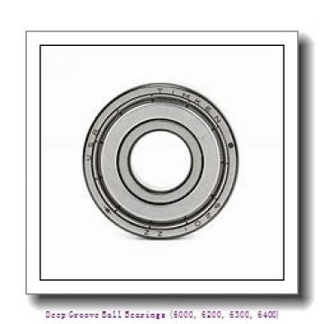 80 mm x 125 mm x 22 mm  timken 6016-2RS-C3 Deep Groove Ball Bearings (6000, 6200, 6300, 6400)