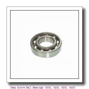 60 mm x 95 mm x 18 mm  timken 6012-C3 Deep Groove Ball Bearings (6000, 6200, 6300, 6400)