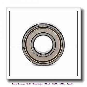 75 mm x 115 mm x 20 mm  timken 6015-2RS-C3 Deep Groove Ball Bearings (6000, 6200, 6300, 6400)