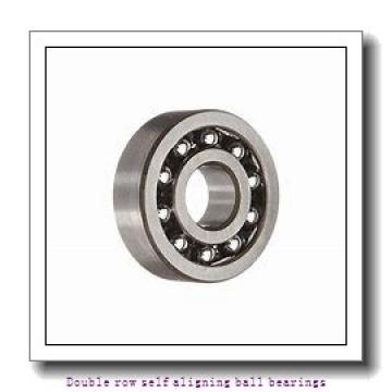 30 mm x 72 mm x 27 mm  NTN 2306S Double row self aligning ball bearings