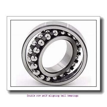 20 mm x 52 mm x 21 mm  NTN 2304SC3 Double row self aligning ball bearings