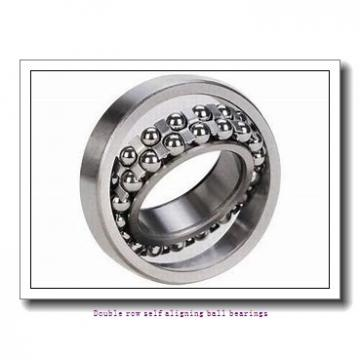 25,000 mm x 62,000 mm x 24,000 mm  SNR 2305G15 Double row self aligning ball bearings