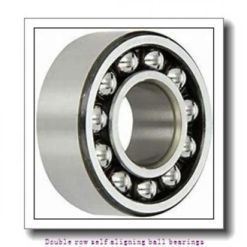 30 mm x 72 mm x 27 mm  SNR 2306KC3 Double row self aligning ball bearings
