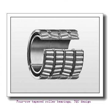 304.648 mm x 438.048 mm x 280.99 mm  skf 331492 Four-row tapered roller bearings, TQO design