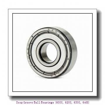 80 mm x 125 mm x 22 mm  timken 6016-ZZ-C3 Deep Groove Ball Bearings (6000, 6200, 6300, 6400)
