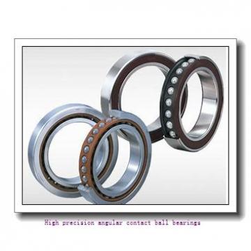 55 mm x 100 mm x 21 mm  SNR 7211HG1UJ84 High precision angular contact ball bearings