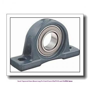 4.438 Inch | 112.725 Millimeter x 2.3750 in x 18.3750 in  timken SDAF 22526 Inch Tapered Bore Mounting Pillow Block SDAF225 and SDAF226 Series