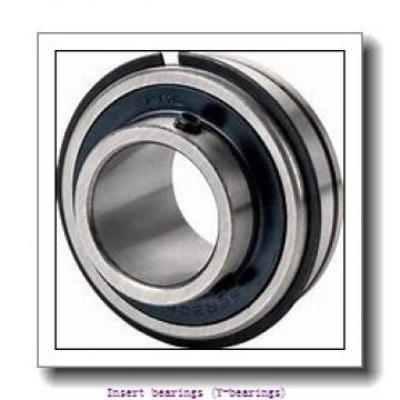 30 mm x 62 mm x 36.5 mm  skf YEL 206-2RF/VL065 Insert bearings (Y-bearings)