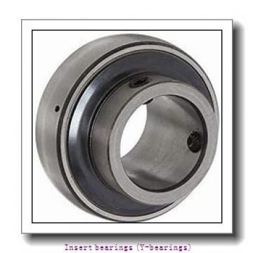30 mm x 62 mm x 38.1 mm  skf YAR 206-2RF/HV Insert bearings (Y-bearings)