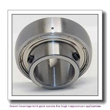 35 mm x 72 mm x 42.9 mm  skf YAR 207-2FW/VA201 Insert bearings with grub screws for high temperature applications