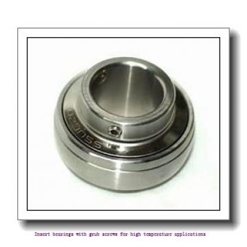 35 mm x 72 mm x 42.9 mm  skf YAR 207-2FW/VA228 Insert bearings with grub screws for high temperature applications