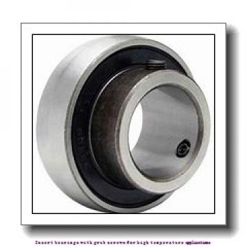 42.862 mm x 85 mm x 49.2 mm  skf YAR 209-111-2FW/VA201 Insert bearings with grub screws for high temperature applications