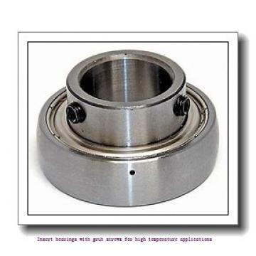 30 mm x 62 mm x 38.1 mm  skf YAR 206-2FW/VA228 Insert bearings with grub screws for high temperature applications