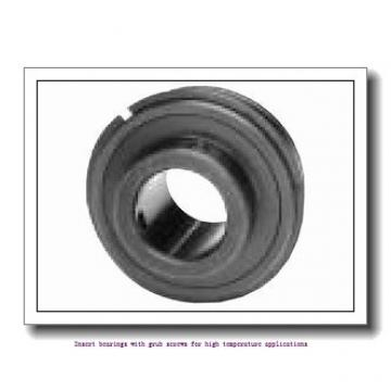 25.4 mm x 52 mm x 34.1 mm  skf YAR 205-100-2FW/VA201 Insert bearings with grub screws for high temperature applications
