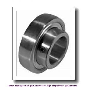 45 mm x 85 mm x 49.2 mm  skf YAR 209-2FW/VA228 Insert bearings with grub screws for high temperature applications