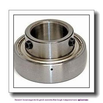 40 mm x 80 mm x 49.2 mm  skf YAR 208-2FW/VA228 Insert bearings with grub screws for high temperature applications