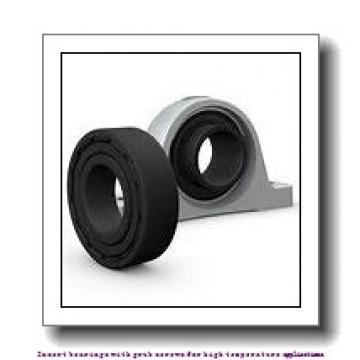 40 mm x 80 mm x 49.2 mm  skf YAR 208-2FW/VA201 Insert bearings with grub screws for high temperature applications