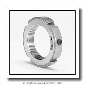 skf N 04 Lock nuts requiring a keyway (inch)