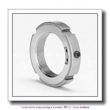 skf MB 22 Lock nuts requiring a keyway,MB(L) lock washers