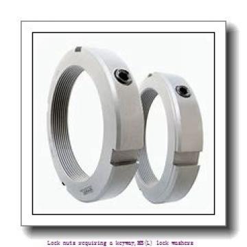 skf MB 9 Lock nuts requiring a keyway,MB(L) lock washers