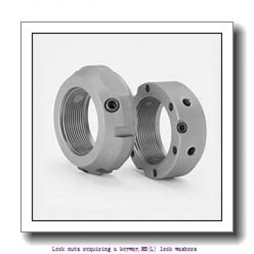 skf MB 0 Lock nuts requiring a keyway,MB(L) lock washers
